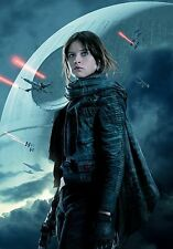 STAR WARS ROGUE ONE MANIFESTO TEXTLESS GARETH EDWARDS FELICITY JONES MENDELSOHN