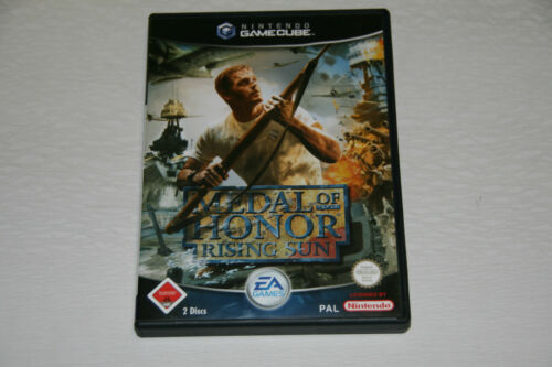 1 von 1 - Medal Of Honor: Rising Sun (Nintendo GameCube, 2003, DVD-Box) Wie Neu USk 18