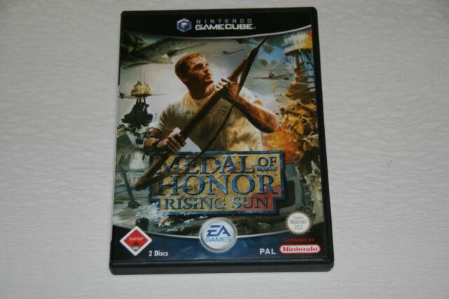 Medal Of Honor: Rising Sun (Nintendo GameCube, 2003, DVD-Box) Wie Neu USk 18