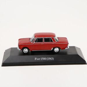 1-43-IXO-FIAT-1500-1963-Die-Cast-Car-Modell-seltene-Kollektion