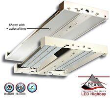 165 Watt LED High Bay Light Fixture for Shop Warehouse - DLC Listed 5 Year Warr