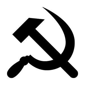 Hammer And Sickle Vinyl Decal Sticker Russia Soviet Union Flag