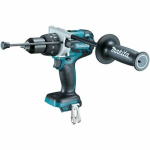 Makita-XPH07Z-18V-LXT-Lithium-Ion-Brushless-Cordless-1-2-034-Hammer-Driver-Drill-B