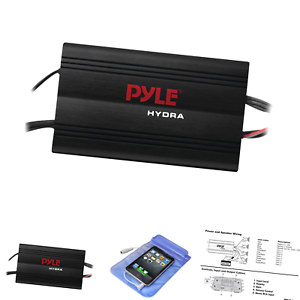 Details about Pyle Hydra Marine Amplifier - Upgraded Elite Series 800 on