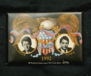 1992 Lot of 3 Lot3 Bill Clinton /& Al Gore // Presidential Campaign Buttons