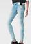 Indexbild 1 - G-Star-3301-Low-Waist-Super-Skinny-Jeans-blau-Damen-Groesse-UK-w32-l32-ref142