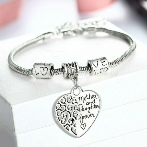 Love Bracelet Chain Mother Daughter Grandma Sister Gifts Christams Bracelets