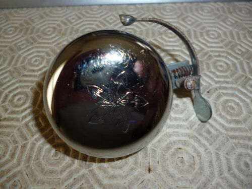"""VINTAGE 1970`S POLISHED BICYCLE BELL  2/"""""""