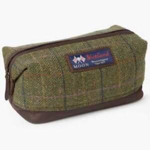 Wash Shetland John Toiletry Tartan Moon Lewis Bag Travel Mens 15IqAA