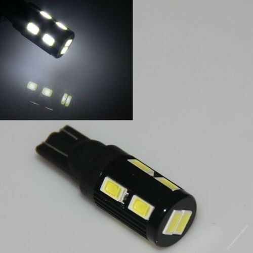2 Pure White LED 912 12V Interior Lights RV Camper Motorhome Trailer Bulb