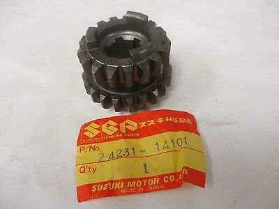 NOS Suzuki PE175 RM100 RM125 RS175 Drive Gear 24231-14101