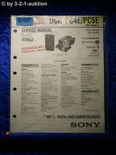 Sony Service Manual DCR PC4E /PC5E Level 1 Digital Camera (#5707)
