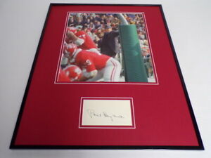 Paul-Bear-Bryant-Signed-Framed-16x20-Photo-Display-Alabama-Crimson-Tide