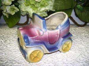 Shawnee Classic Car Planter USA Pottery Vintage