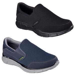 Détails sur Skechers Equalizer persistant Baskets Memory Foam Chaussures De Marche Homme 51361 afficher le titre d'origine