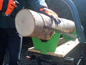 Timber Teeth Saw Horse Jaws Workmate Log Clamp Galvanised - pairs