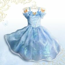Disney Store CINDERELLA Dress Limited Edition 3500 Costume Blue Dress Size 5