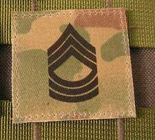 Galons US - 1ST SERGEANT - grade scratch MULTICAM rank insignia SNAKE PATCH