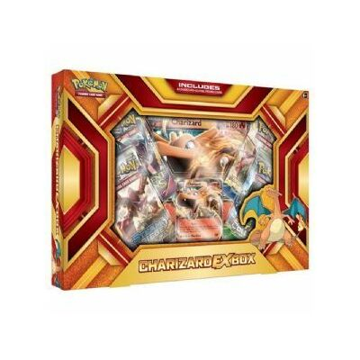 Pokemon TCG Charizard- Fire Blast EX Box - Trading Card Game