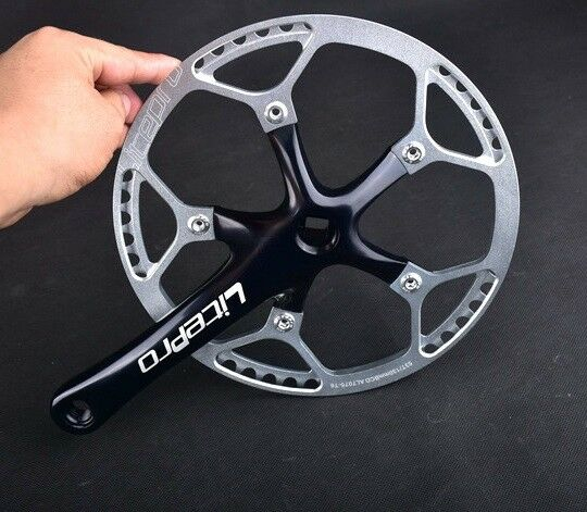 Litepro Crankset Folding Road XC Bike Crank arm 170mm Chainring 45 47 53 56 58T