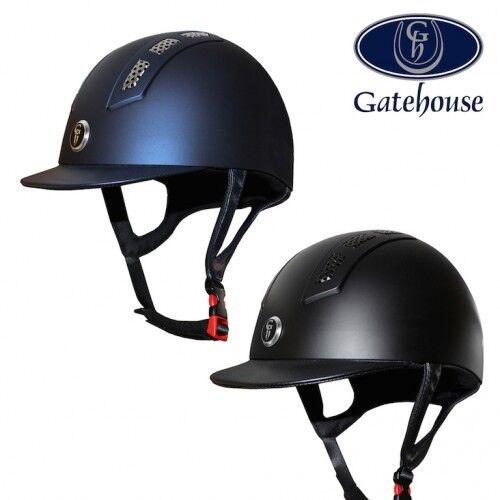 Gatehouse Chelsea flusso d'aria Cappello da equitazione Pro-MATT