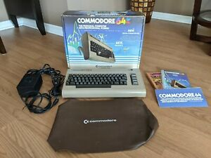 Commodore 64 Computer WORKING - Rare 326928 A - Matching Serials, Box + More