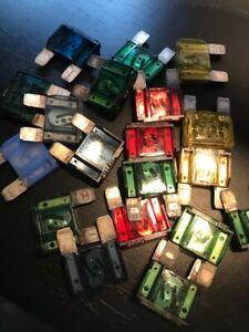 [CSDW_4250]   Maxi Blade Car Fuse Box Assortment Set of 19 Auto 60 Amp 50 Amp 30 Amp 20  Amp | eBay | 30 Amp Car Fuse Box |  | eBay