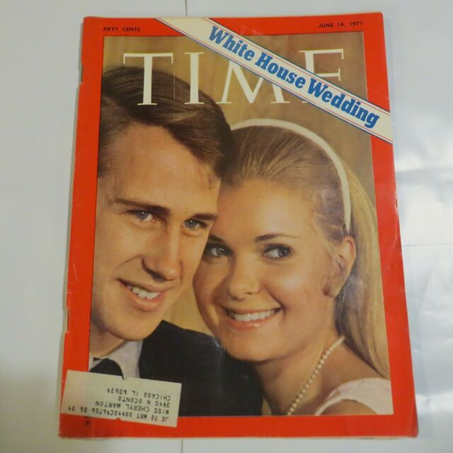 Tricia Nixon Wedding: Time Magazine June 14, 1971: Tricia Nixon-Edward Cox