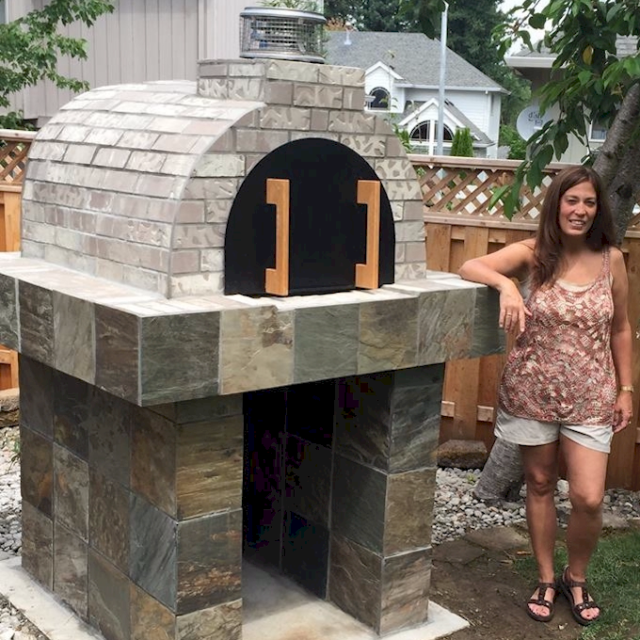 Wood Burning Pizza Oven Outdoor