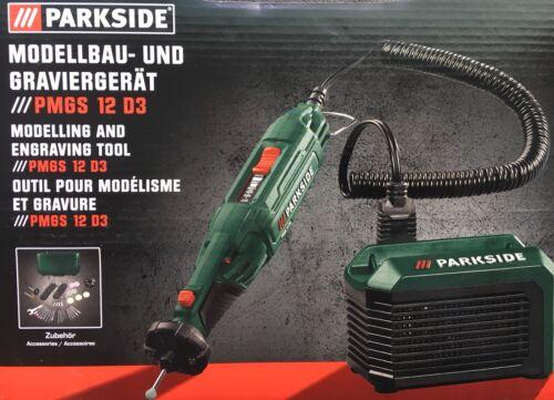 PARKSIDE PMGS 12 D3 Modellbau und Graviergerät Gravieren Bohren Fräsen Polieren