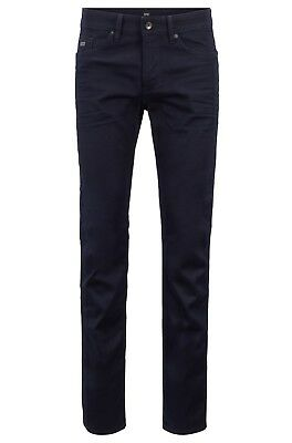 Hugo Boss Delware3 Slim Fit Dark Wash Denim Jeans