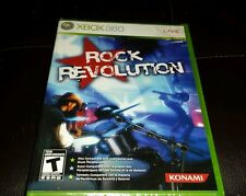 ☆Rock Revolution GAME Xbox 360 LIVE Brand New Free Shipping Ships Worldwide! ☆
