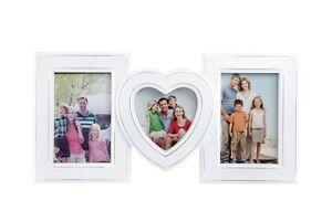 Fotorahmen Bilderrahmen Hochzeit Geschenk Collage Herz Weiss Collage