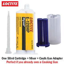 Loctite Ea Hysol E 120hp Toughened Non Sag 120 Min Epoxy 50mlcaulk Gun Adapter