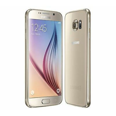 Unlocked SAMSUNG Galaxy S6 G920F Black White Gold Blue Android Phone Pristine UK