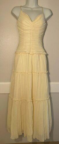 Jessica McClintock Gunne Sax Formal Dress Maxi Fo… - image 1