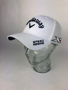 GéNéReuse Callaway Unisex White Ta Performance Speed Regime Big Bertha Pro Hat Cap S / M