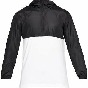 87482e3d933a Under Armour Mens Sport style Wind Anorak Jacket 1311107 100 Sz ...