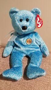 TY Beanie Baby - CLASSY the Bear (People's Beanie) (8.5 inch)
