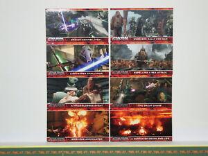 Trading Cards Star Wars - La Revanche Des Sith - 8 Cartes Editées En 2006 A71jij2m-07185807-533083620
