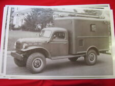 DODGE POWER WAGON  ARMY TRUCK?  # 2   11 X 17  PHOTO /  PICTURE