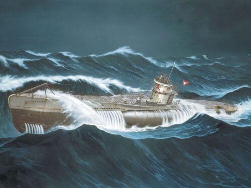 """REVELL® 05015 1:72 Deutsches U-Boot VII C """"Wolf Pack"""" """"Die grauen Wölfe"""" NEU"""