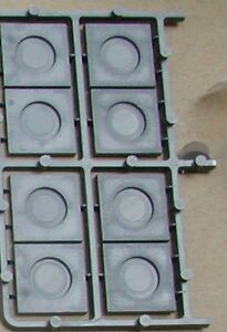 8x-25MM-SQUARE-CARRE-SOCLES-BASES-RENEDRA-G90