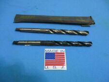 12 1 Morse Taper High Speed Drill Bits Usa 1645