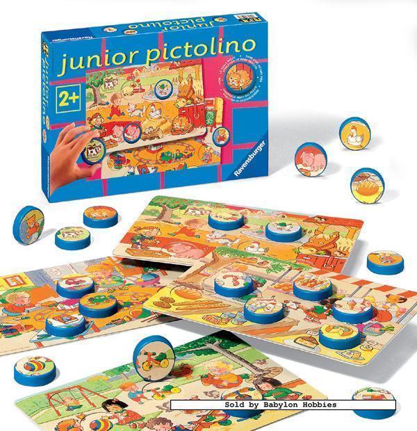 Ravensburger Junior Pictolino Childrens Board Game 24036