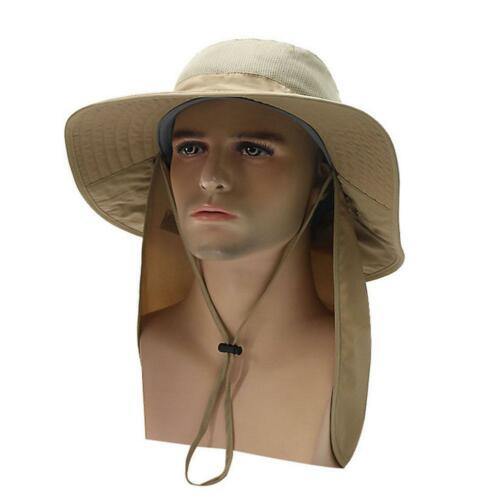 Summer Beach Fisherman Hats For Men Anti-UV Sun Protection Bucket Caps