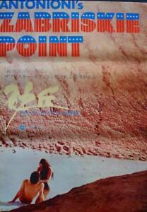 Michelangelo Antonioni Zabriskie Point movie poster 1