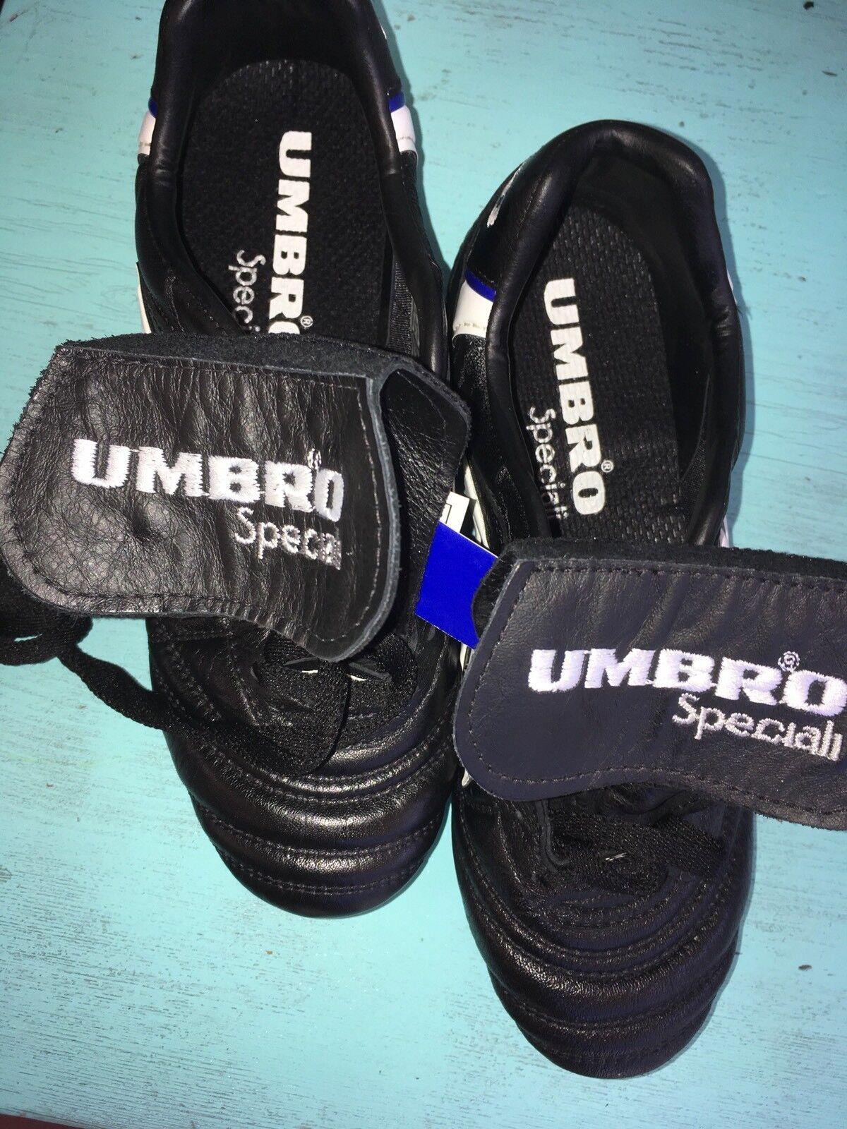 Umbro specialeei FG Memory Flex Sole Sole Sole Soccer Cleats sautope K-Leather Sz 6.5 d1a