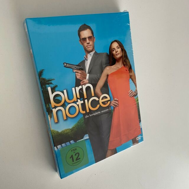 Burn Notice - Die komplette Season 2 | NEU 4-DVDs | DVD r05