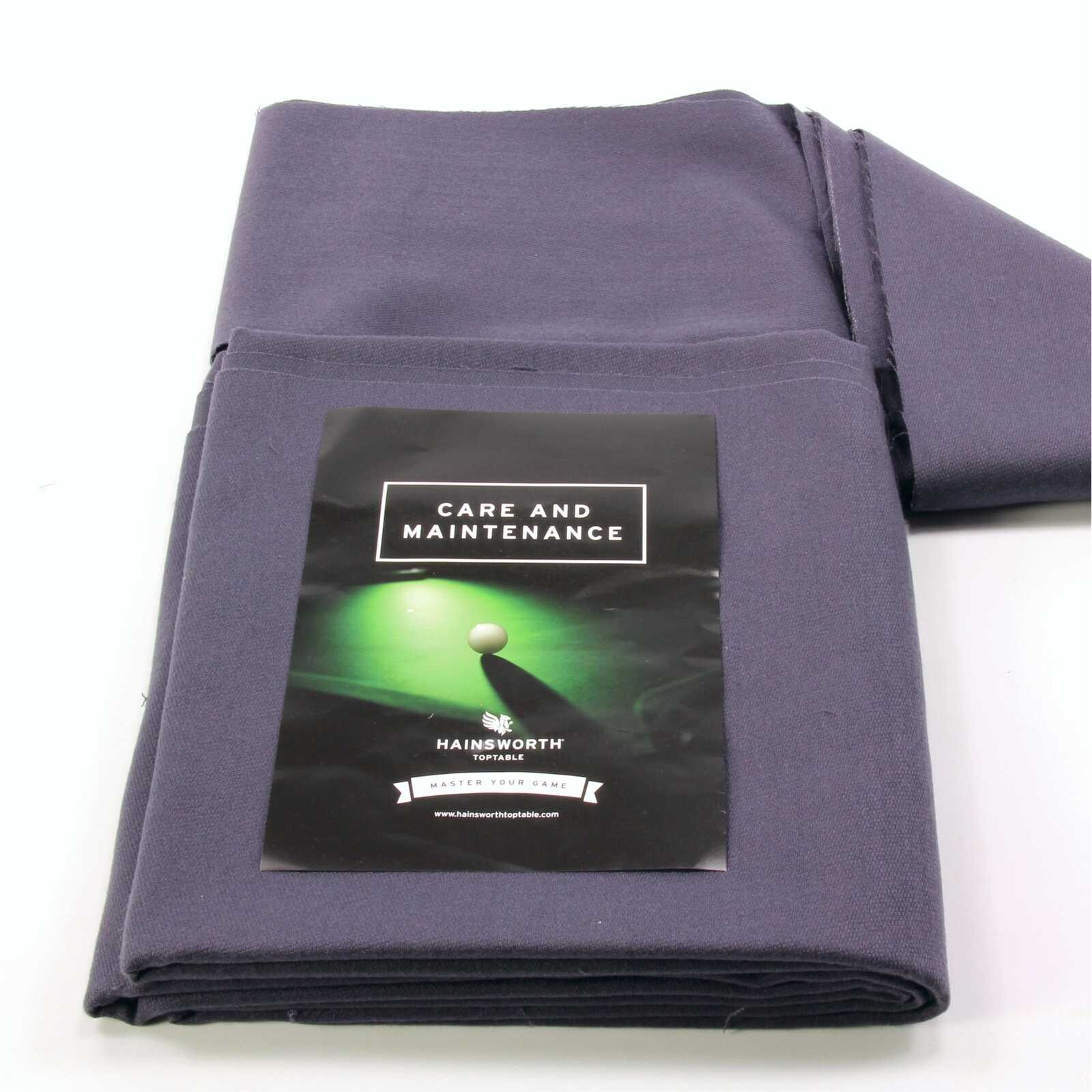 Hainsworth ELITE PRO Bed & Cushion Set for 7ft UK Pool Table - CHARCOAL